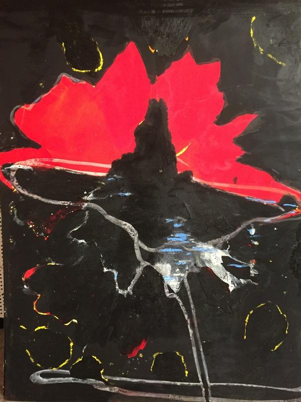 Tony SOULIÉ - Pintura - Dreamed Flower II