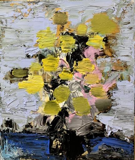 GAO Renjie - Pittura - The Flower