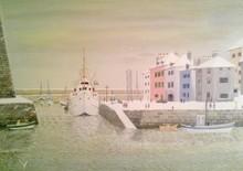 André BOUQUET - Painting - le palais sous la neige