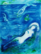 Marc CHAGALL - Estampe-Multiple - So I came Forth of the Sea ...