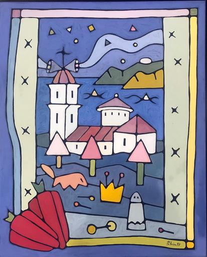 Jorge PETEIRO - Gemälde - IGLESIA DE LIRA