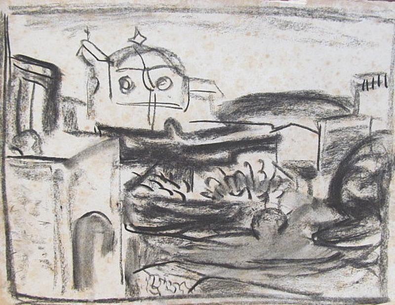Erich HARTMANN - Dessin-Aquarelle - #19988: Ischia St. Angelo.