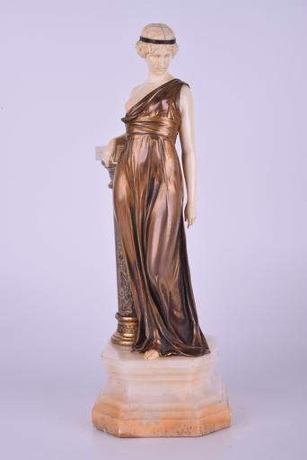 Johann Philipp PREISS - Escultura - Untitled (Standing Female)