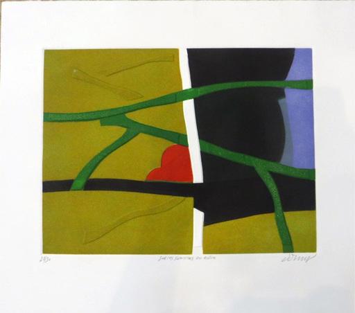Bertrand DORNY - Estampe-Multiple - Sur les sentiers du rêve