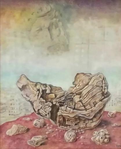 Erich GARGERLE - Gemälde - Dopo il diluvio