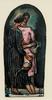 Julio GONZALEZ - Dibujo Acuarela - Maternité noire et rose