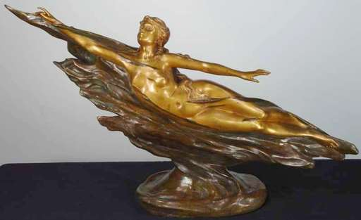 Charlotte MONGINOT - Sculpture-Volume - Water Nymph