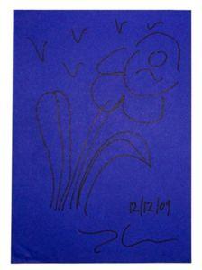 Jeff KOONS - Dessin-Aquarelle - Flower 2