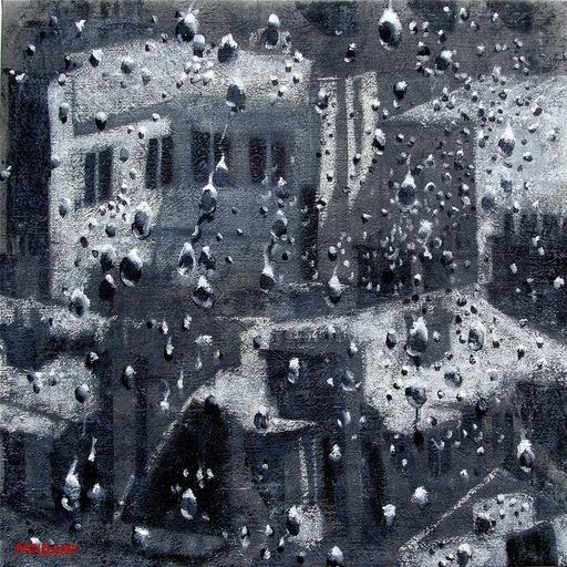 Carlo MAIOLINI - Peinture - Jour de Pluie