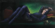 Renato BERTOLONI - Pintura - La Ciliegia, 1967