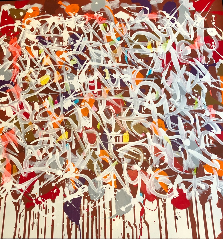 JONONE - Painting - Bloody Sunday