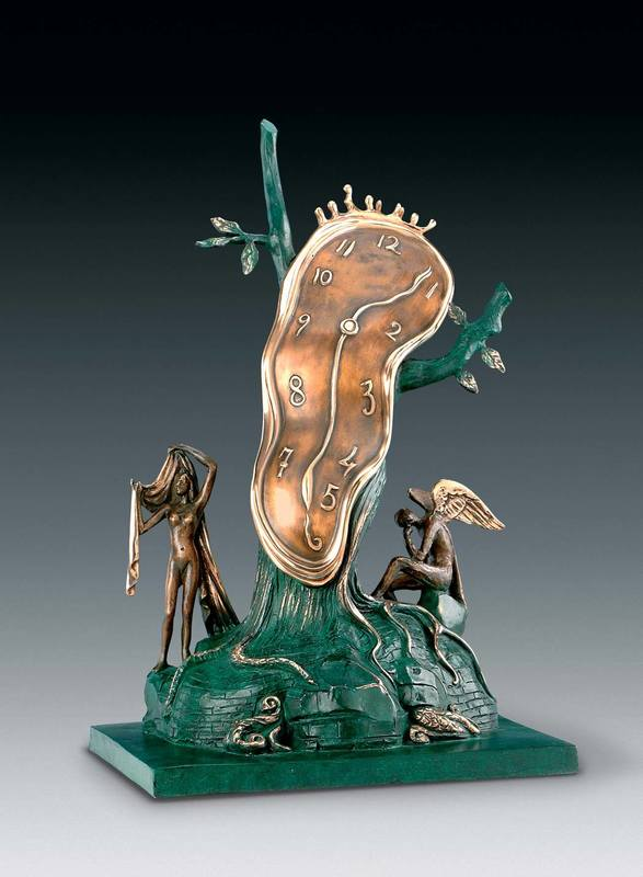 Salvador DALI - Sculpture-Volume - Nobility of Time