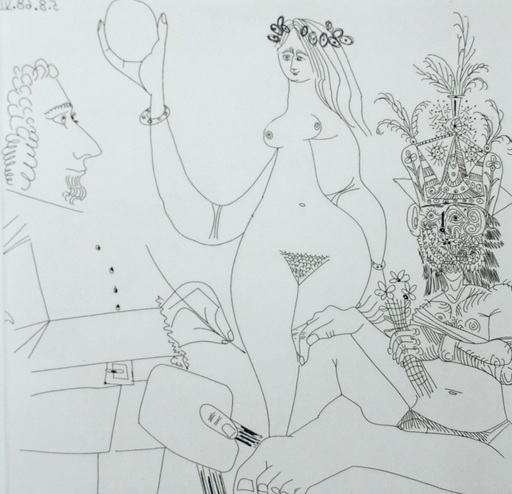 Pablo PICASSO - Grabado - Series 347, Bloch 1748