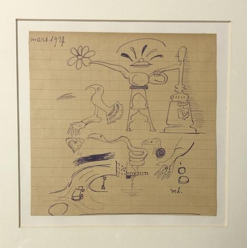 Maurice HENRY - 水彩作品 - Untitled