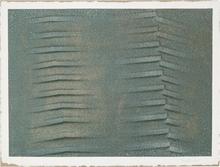 Agostino BONALUMI - Peinture - Verde