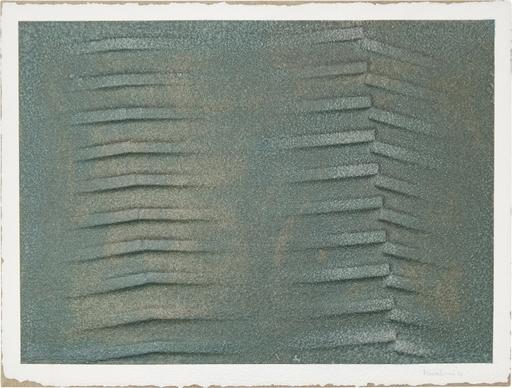Agostino BONALUMI - Pintura - Verde