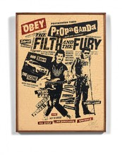 Shepard FAIREY - Print-Multiple - The filth and the fury
