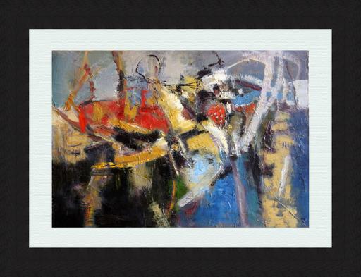 Levan URUSHADZE - Peinture - Composition # 88