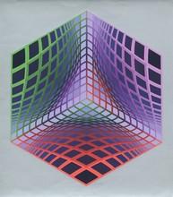 Victor VASARELY - Print-Multiple - Test Tarka