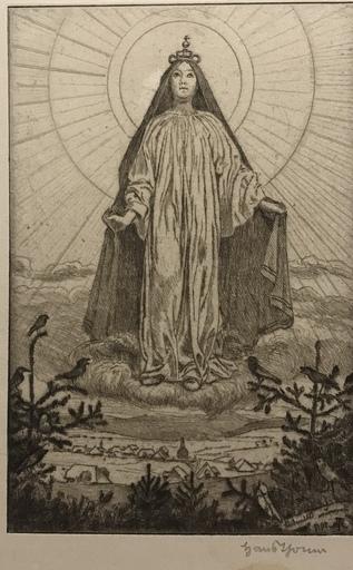 Hans THOMA - Print-Multiple - Himmelskönigin