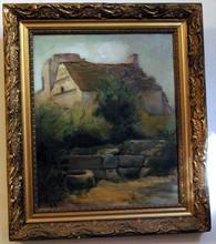Jacques SEGAL - Pintura - LIMOGNE en QUERCY