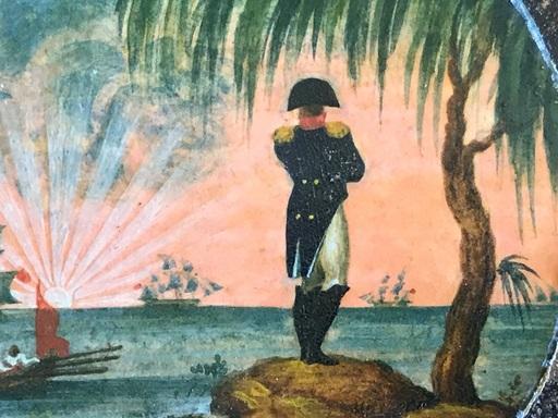 Gustave DORÉ - Pintura - Napoleon I° arrivant à Sainte Hélène le 15-10-1815