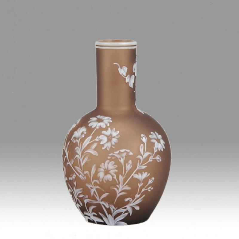Thomas WEBB - Flower Vase