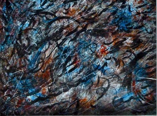 Didier ANGELS - Pintura - Vibrations 1/3% 2013
