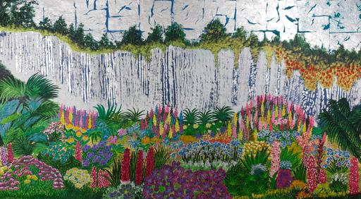 Corine LESCOP - Peinture - Jardin d'Eden