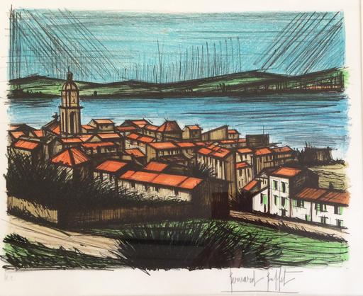 Bernard BUFFET - Print-Multiple - Saint-Tropez - La baie
