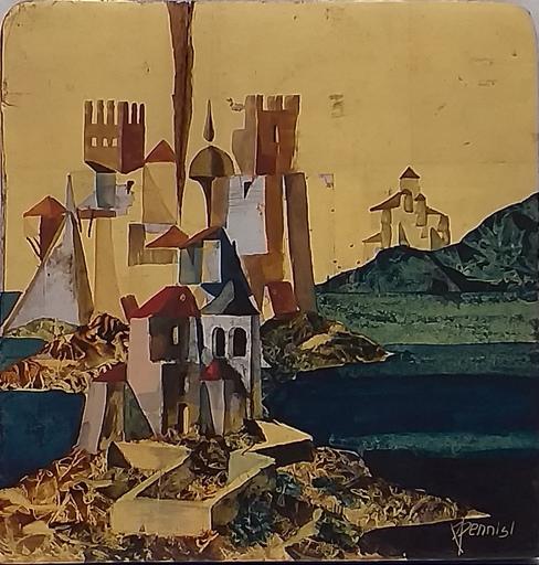 Paul PENNISI - Painting - Icona Profana