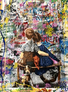 MR BRAINWASH - Painting - Work Well Together