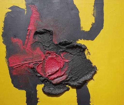 Luis FEITO LOPEZ - Painting - composición