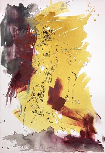 Nicole LEIDENFROST - Gemälde - It was a long ride