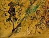 AFFANDI - Painting - HARVEST IN RICE FIELD