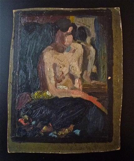Buckley MACGURRIN - Gemälde - La Femme au miroir