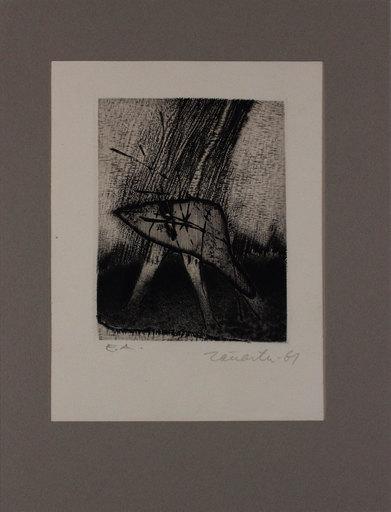 Enrique ZANARTU - 版画 - Senza titolo da 'Avanguardia internazionale', vol. 4