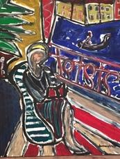 Christian DURIAUD - Peinture - Le grand canal