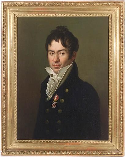 """Karl Gottlieb SCHWEIKART - Gemälde - """"Portrait of a Gentleman with Austrian Leopold-Order"""""""