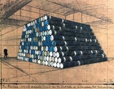 CHRISTO - Print-Multiple - Philadelphia Mastaba