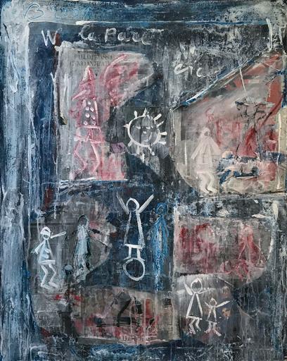 Vittorio BELLINI - Painting - Picasso genio antipatico, 2007
