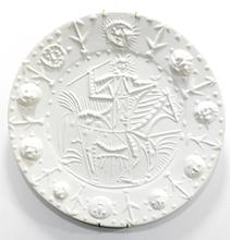 Pablo PICASSO - Céramique - Faune cavalier