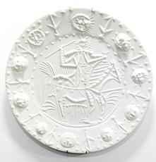 Pablo PICASSO - Ceramic - Faune cavalier