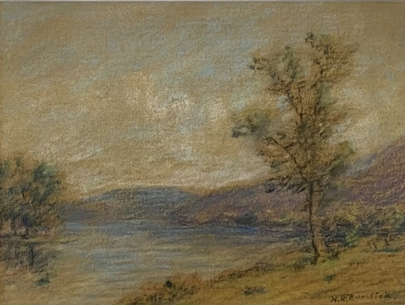 Horace Robbins BURDICK - Drawing-Watercolor