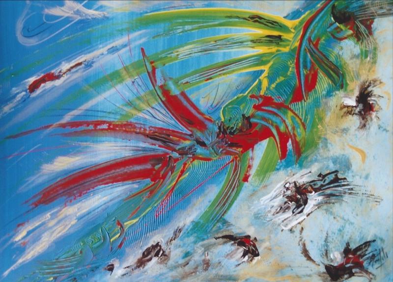 Didier ANGELS - Pintura - L'éclat
