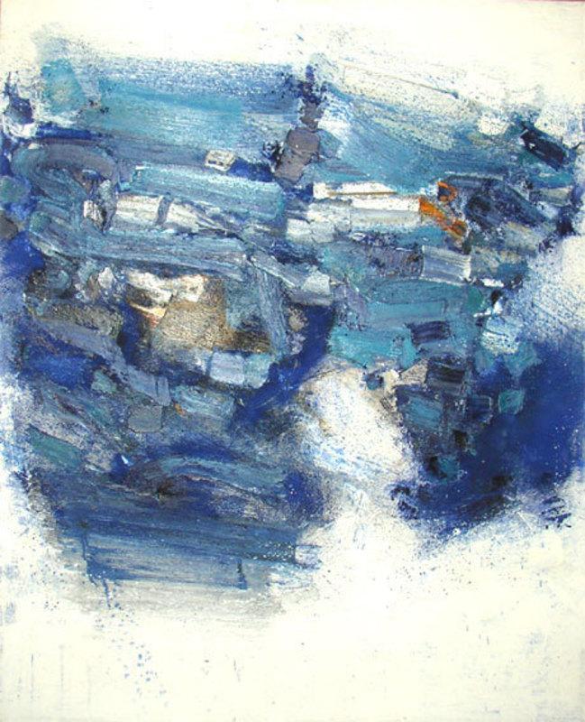 Giancarlo BARGONI - Peinture - Obidos - Intensità