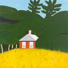 Alex KATZ - Print-Multiple - Red House