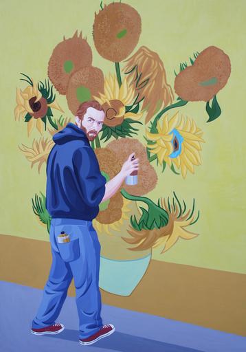 Giuseppe VENEZIANO - Peinture - La Costruzione di un Amore