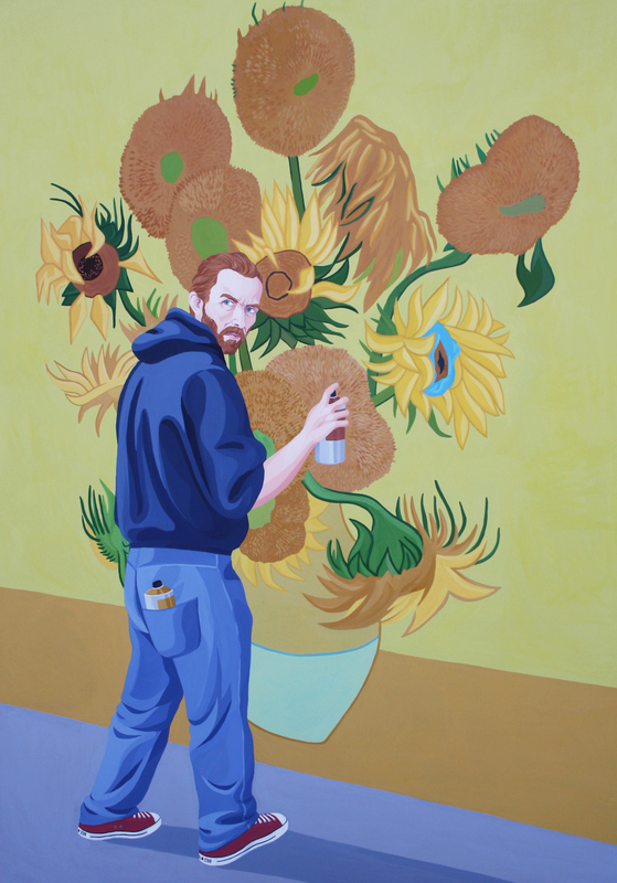Giuseppe VENEZIANO - Painting - La Costruzione di un Amore