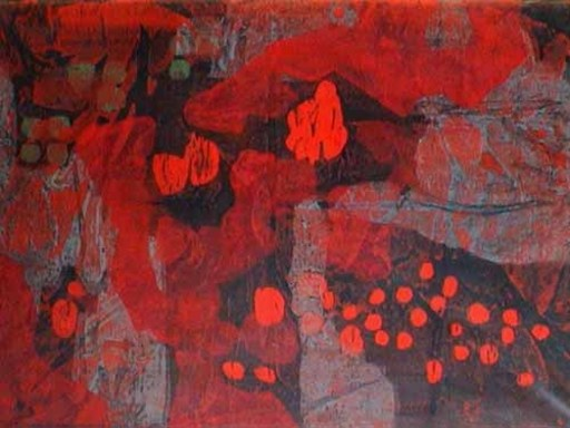 Enrico DE TOMI - Painting - senza titolo